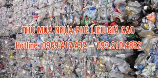 thu mua nhựa phế liệu giá cao