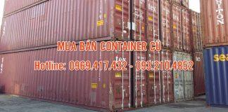 mua bán container cũ giá sắt vụn
